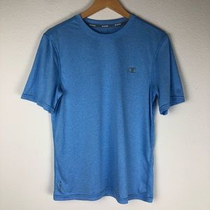 Champion Blue Tee Shirt  Size S